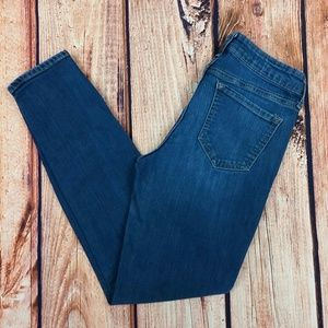 Rockstar Old Navy Skinny Jeans with Zipper Detail